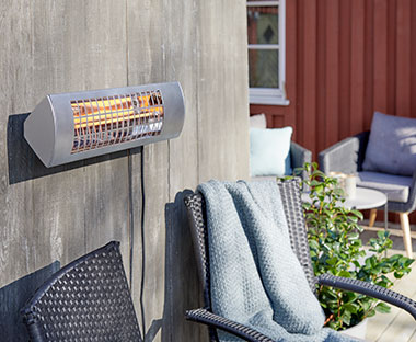 KRIKKAND patio heater