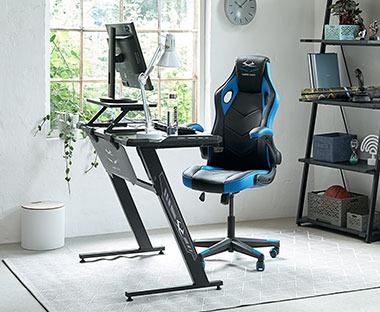 Meble Biurowe Biurka Komputerowe I Krzesła Biurowe