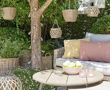 Meble ogrodowe, poduszki ogrodowe i akcesoria wszystko w